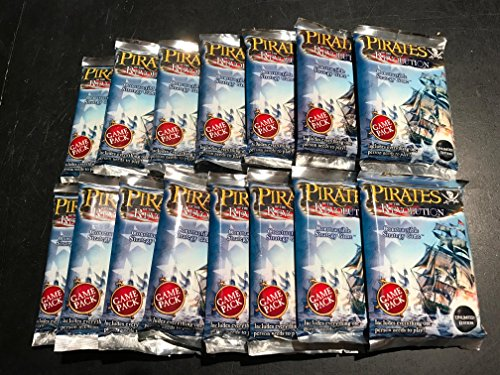 WizKids Pirates of The Revolution Unlimited Edition Game Pack Boosters X 15 Packs