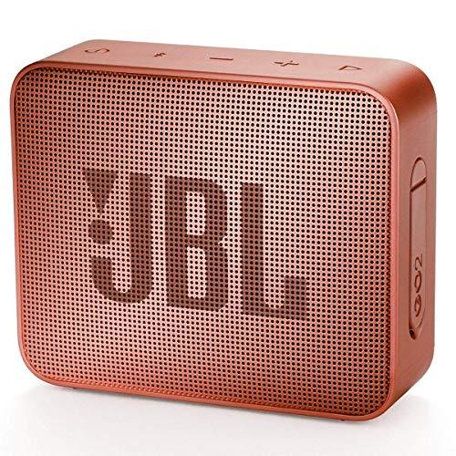 JBL GO2 – Alto-falante Bluetooth ultra portátil à prova d'água – Cinnamon