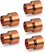 Best 3/8 to 1/4 copper reducer Reviews