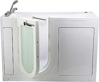 Ella's Bubbles OA3052-L Malibu Soaking Acrylic Walk-In Bathtub, Left Outward Swing Door, Thermostatic Faucet, 2