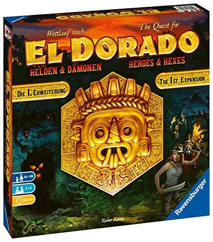 Ravensburger Juegos 26790 – Carrera a El Dorado – Héroes y Demonios