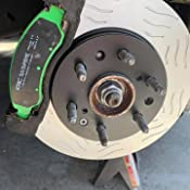 EBC Brakes DP71271 7000 Series Greenstuff SUV Supreme Compound Brake Pad