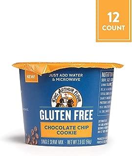 King Arthur Flour Gluten-Free Single Serve Chocolate Chip Cookie Mix, 2 Oz, 12Count