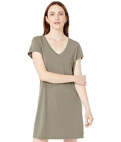 Michael Stars Cotton Modal V-Neck Tee Dress