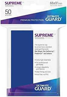 Ultimate Guard UGD010799 Sleeves Supreme UX Standard Size Blue (50) Accessories