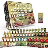 The Army Painter Wargamers Mega Set de Pinturas   60 Warpaints y 100 Bolas de Mezcla   Pintura de Modelos Miniatura Wargames