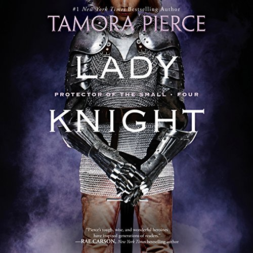 Lady Knight audiobook cover art