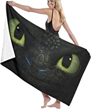 How to T-rain Your Dragon Toothless Pool Beach Towel Luxury Microfiber Bath Towels Quick-Drying Towel Blanket for Travel S...