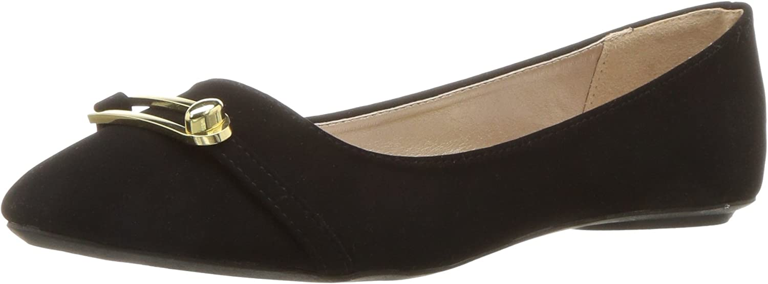 Qupid Womens Bee-29 Ballet Flat