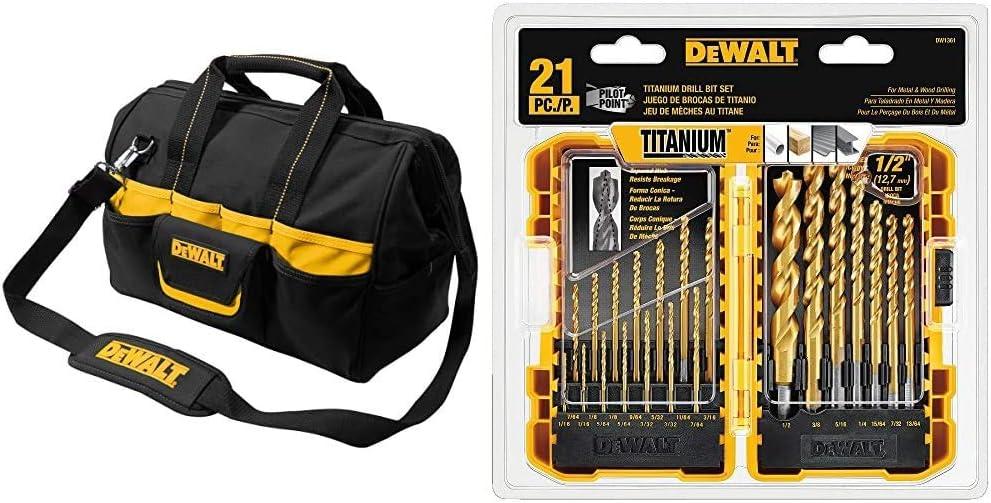 Max 54% OFF Ranking TOP9 DEWALT DG5543 16 in. 33 Titanium Bag Pocket Tool Black