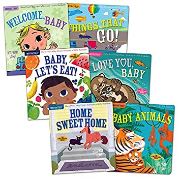 Workman Publishing Indestructibles Basic Word Book Set for Infant and Toddlers - Set of 6