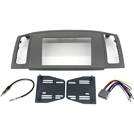 Compatible with Jeep Grand Cherokee 1999-2001 Single DIN Harness Radio Install Dash Kit