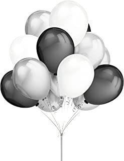 Best black white and silver balloon centerpieces Reviews