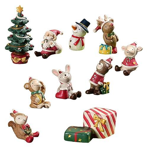Christmas Miniatures.Christmas Miniatures For Crafts Amazon Com
