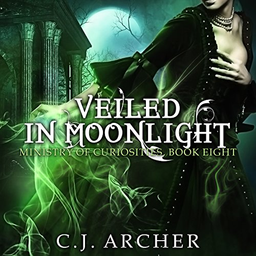 Veiled in Moonlight     The Ministry of Curiosities, Book 8              By:                                                                                                                                 C.J. Archer                               Narrated by:                                                                                                                                 Shiromi Arserio                      Length: 9 hrs and 49 mins     227 ratings     Overall 4.6