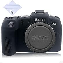 Canon EOS RP Case, Professional Silicone Rubber Camera Case Cover Detachable Protective for Canon EOS RP Digital Camera (Black)