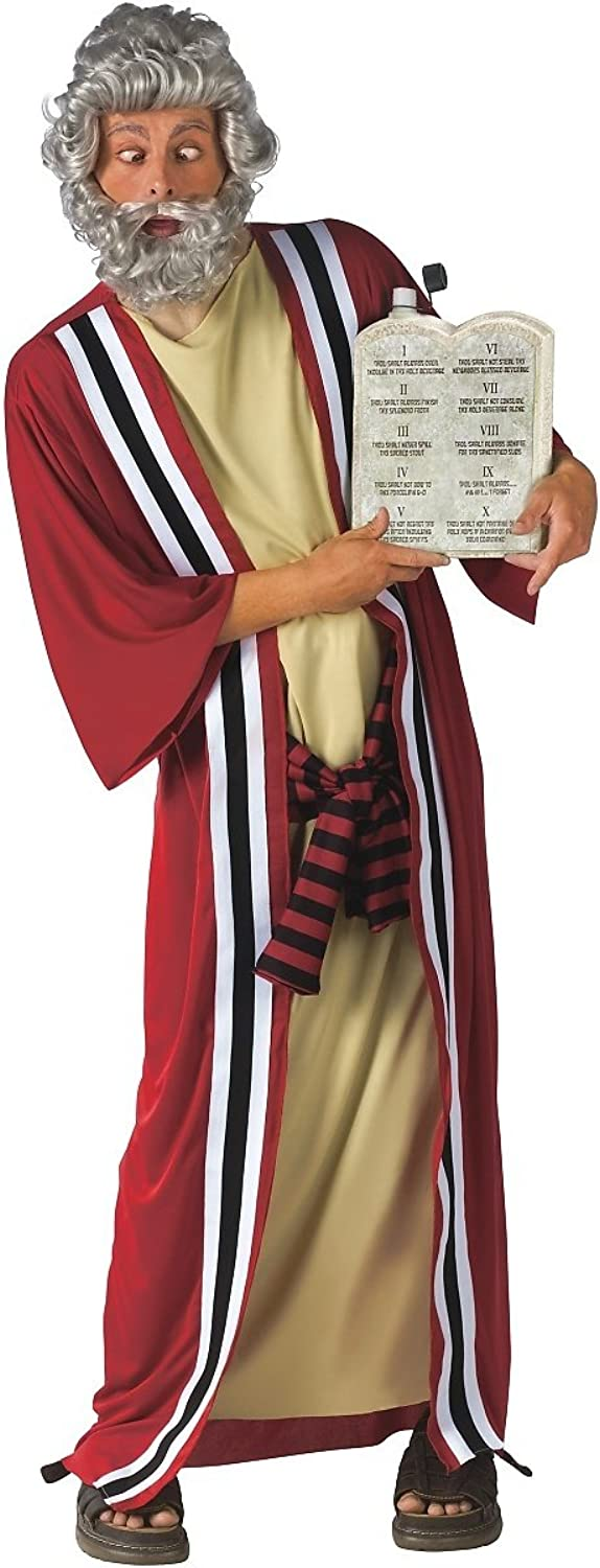 Fun World Moses Costume and Commandments Drinking Container