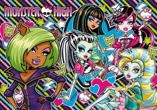 PUZZLE MONSTER HIGH 8 AÑOS! ❤