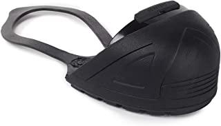 Oshatoes, All Black Steel Toe Cap Safety Overshoe with Rubber Back Strap |OSHA Compliant |Non-Slip Sole for Men and Women | 1 Pair Medium (8-10 US Men / 10-12 US Women) | Medium Width