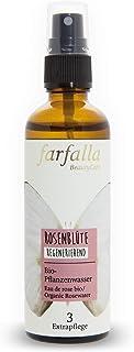 Farfalla Rozenwater, 100% natuurzuiver rozenhydrolaat, regenererend, 75 ml.