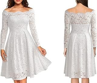 vestidos de noche manga larga de encaje