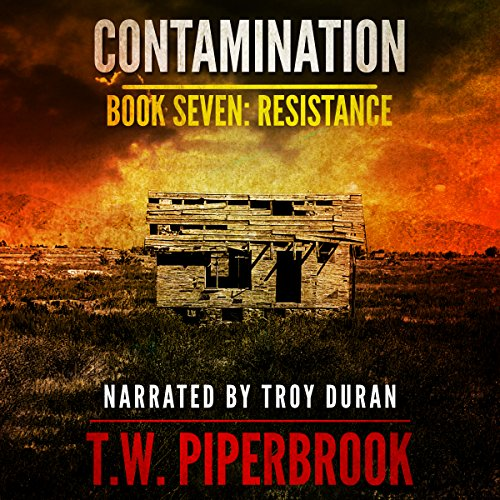 Contamination 7: Resistance audiobook cover art