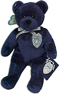 Holy Bears Plush Bear Police Stuffed Animal with Inspirational Hang Tag Card