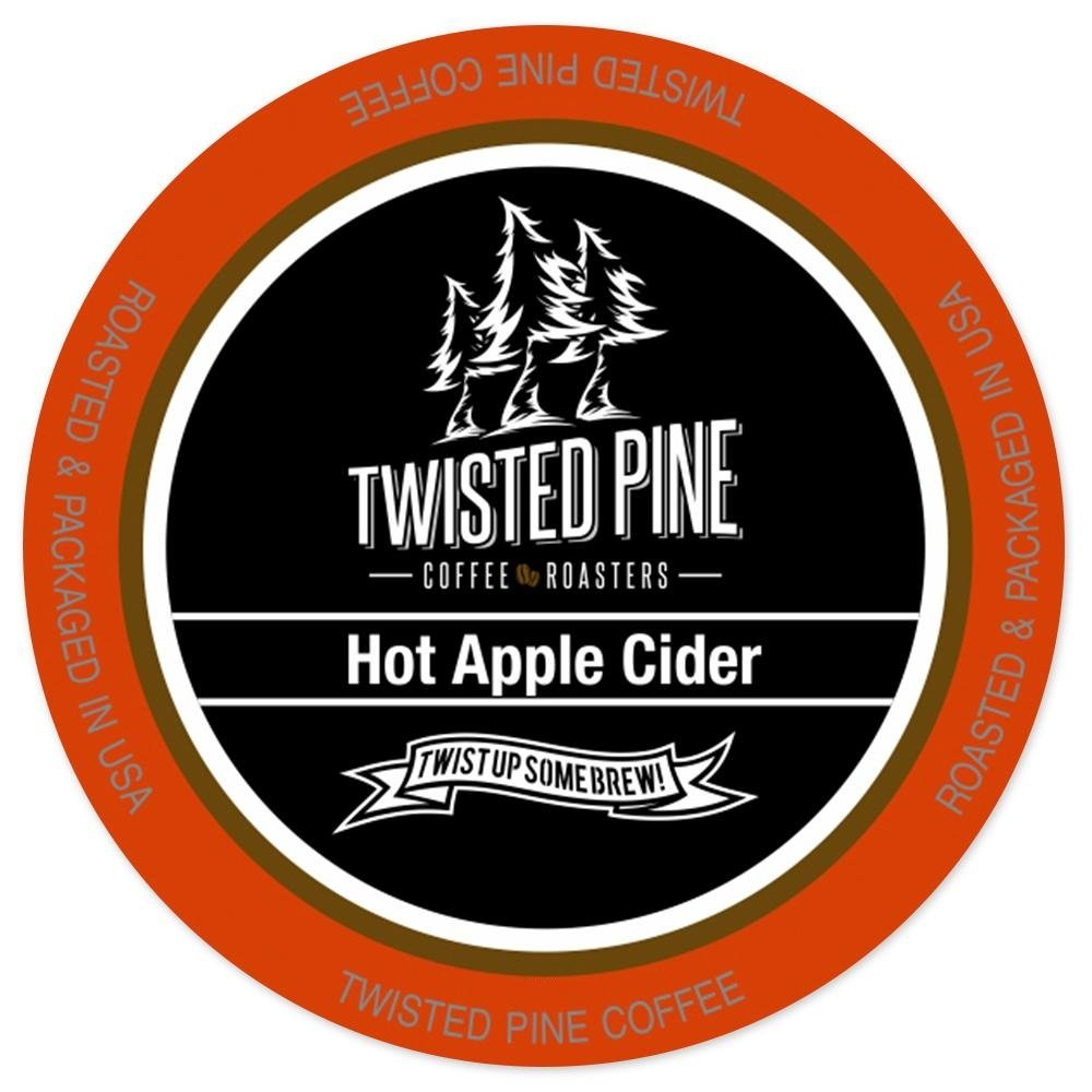 Twisted Pine Hot Apple Cider, Single-Serve Cups for Keurig K-Cup Brewers, 24 Count