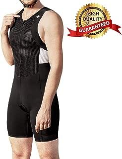 Men's Triathlon Tri Suit Quick Dry Triathlon Runing Swimming Cycling Skin Suit Breathable