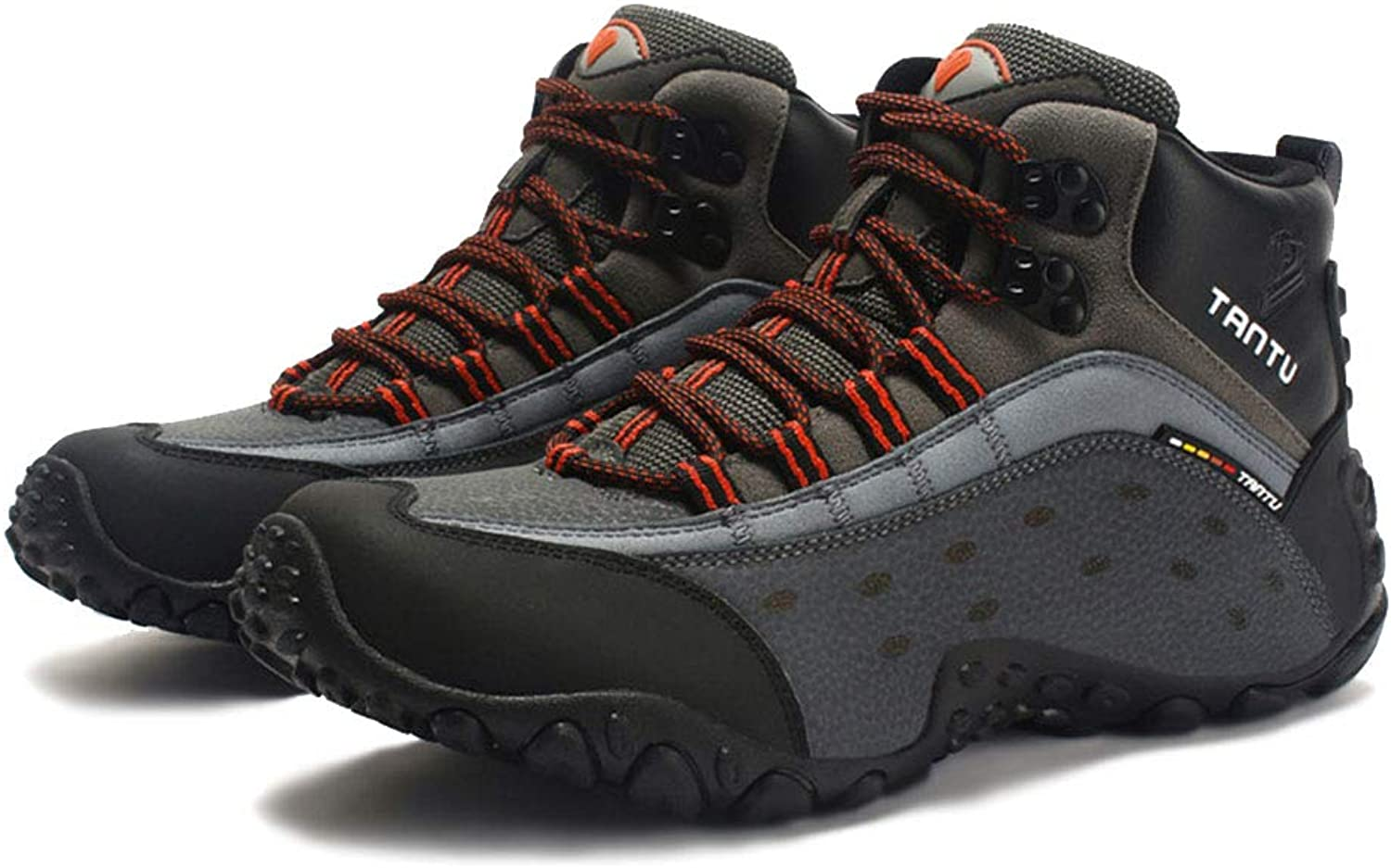 Giles Jones Men's Hiking shoes Snow Boots Outdoor Rubber WearResistant Climbing shoes