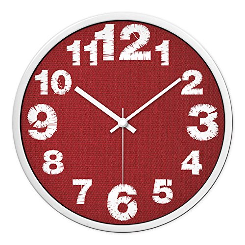 GZLIUXM Reloj De Pared Nordic Reloj Minimalista Moderno Madera Maciza Colgante Mesa...
