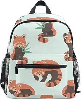 Mydaily Kids Backpack Cute Red Panda Nursery Bags for Preschool Children