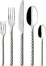 Villeroy en Boch Montauk tafelbestek, 30-delig, voor maximaal 6 personen, roestvrij staal, vaatwasmachinebestendig
