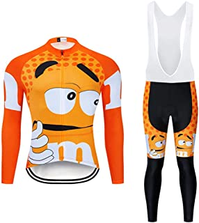 Men's Quick-Dry Cycling Jersey Set Road Bike Bicycle Shirt + Bib Pants with 9D Gel Padded MTB Riding Clothing kit