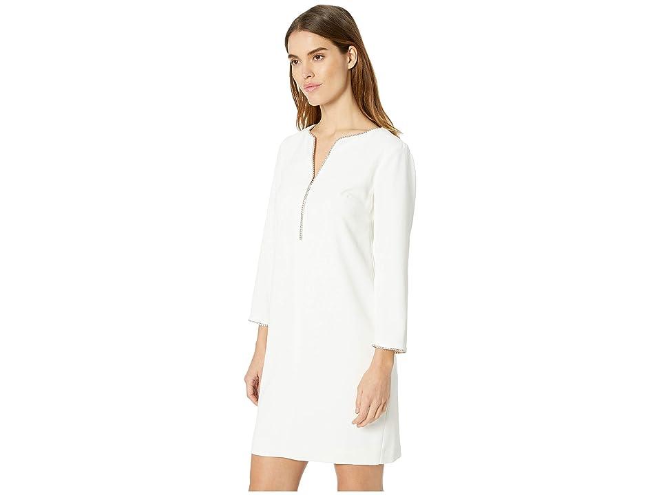 Trina Turk Liqueur Dress (Winter White) Women