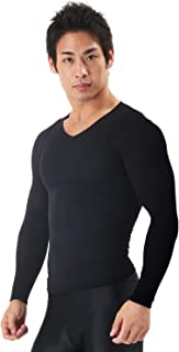 スパルタックス 加圧シャツ長袖 加圧インナー長袖 加圧シャツ メンズ 長袖 メンズコンプレッショントップス