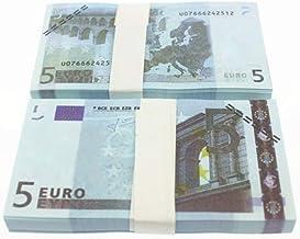 WEIHAN 5 10 20 50 100 200 500 EUR Billetes de Oro en Papel