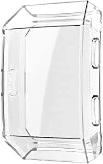 Screen Protector Case for Fitbit Ionic,TPU All-Around Protective Cover High Defination Ultra-Thin Case for Fitbit Ionic Smart Watch(Clear)