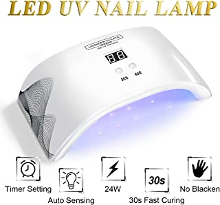 LED UV Nail Lamp Light with Timer Auto-sensor J724
