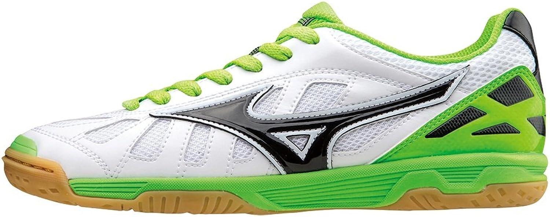 Mizuno Football Five-a-side Futsal shoes man Sala Premium IN Bianco Lime