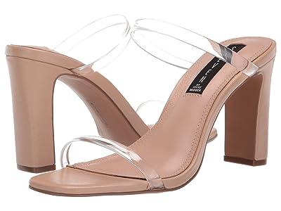 STEVEN NEW YORK Jersey Heeled Sandal (Blush Multi) Women