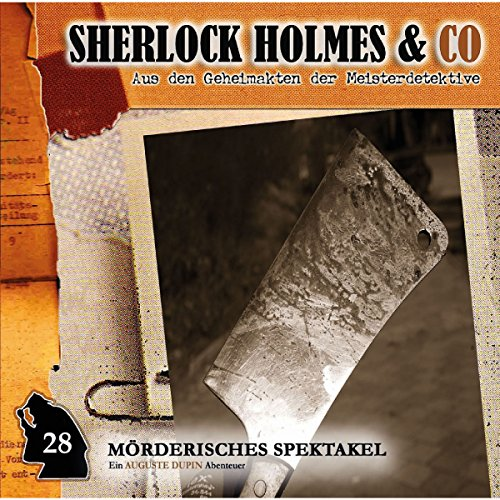Mörderisches Spektakel audiobook cover art
