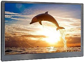 13.3 inch Portable Monitor, Kenowa Full HD 1920 1080 LED IPS Ultrathin Monitor, 2 Mini HDMI, Earphone Port, USB Powered, f...
