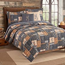 Browning Buckmark Patch Quilt and Sham Set (King)