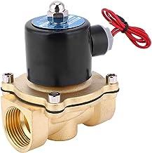 Magneetventiel, messing normaal gesloten magneetventiel, voor luchtwaterolie, 1 inch BSPP 0-1,0 kaart 8 W(2W-250-25 12V)