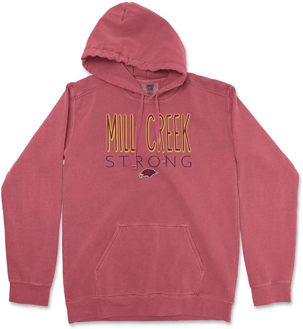 Mill New Trust mail order Creek Hawks Strong Pullover Ringspun Hooded