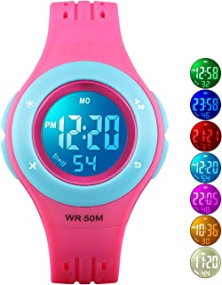 Kids Watch Boys Sports Waterproof Led Digital Watches...