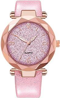 Women Watches Ladies Dress Wrist Quartz Watches Elegant Casual Analog Classic Business Watches (Pink)