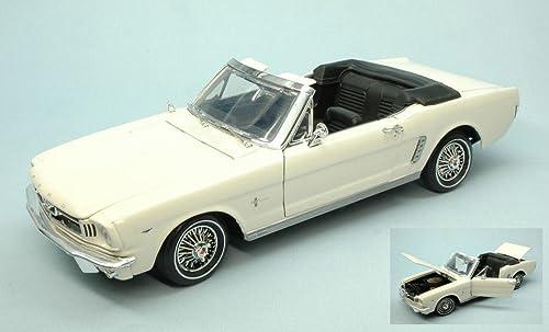 tienda en linea MOTORMAX MTM73145CR FORD MUSTANG OPEN 1964 CREAM 1 18 MODELLINO MODELLINO MODELLINO DIE CAST MODEL  promociones