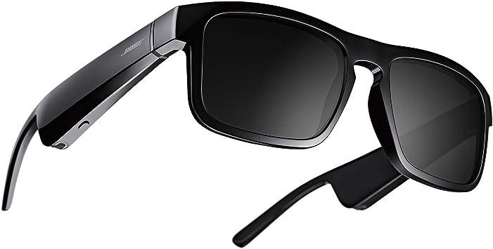 Bose Frames Tenor - Gafas de sol Bluetooth con Audio, rectangulares y polarizadas, Negro